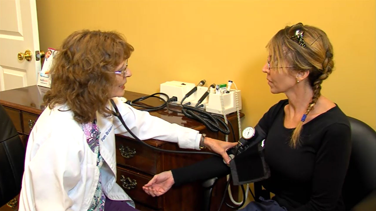 Blood Pressure Exam - Urgent Care & Family Clinic - Dowlen Medical Center - Beaumont, Texas
